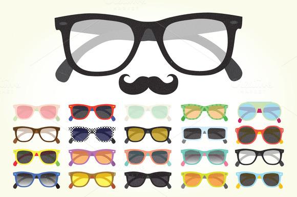 Big Sunglasses Set