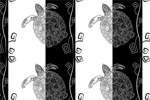 Seamless Pattern Black And White