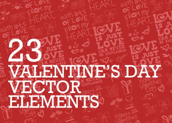23 Valentine S Day Elements