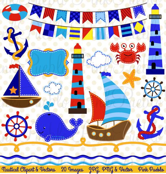 Nautical Clipart And Vectors