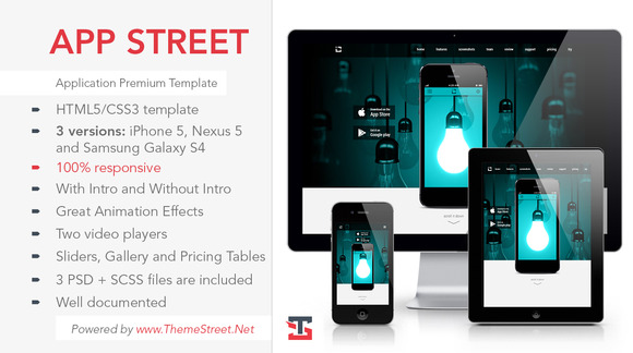 APP STREET Application Template