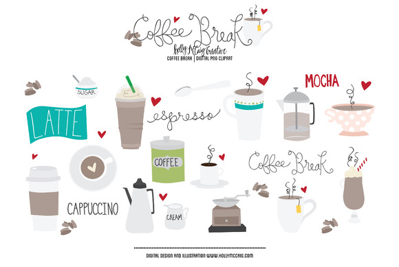 Coffee Break PNG Clipart