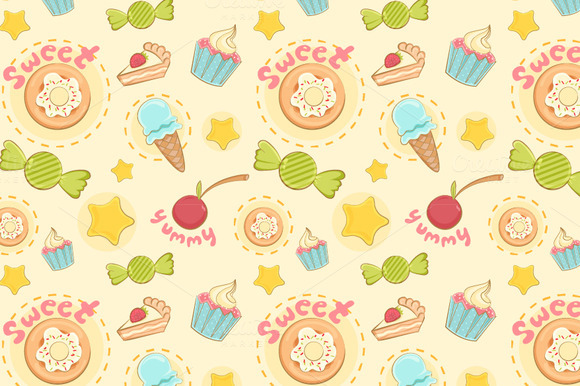 Breakfast Junkie Pattern Set