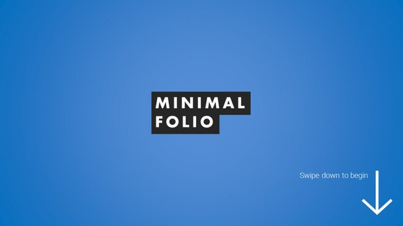 Minimal Folio PowerPoint