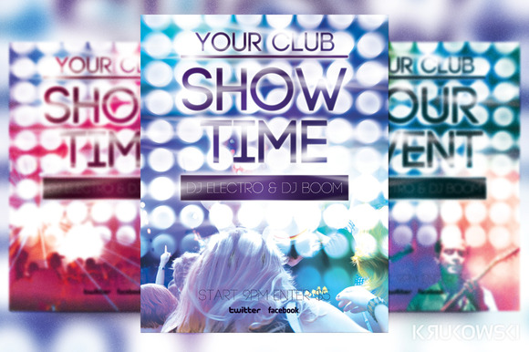 Show Flyer Template