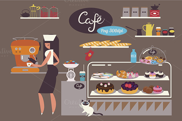 Welcome To Cafe Png Clipart