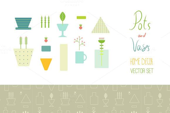 Vases Pots Plants
