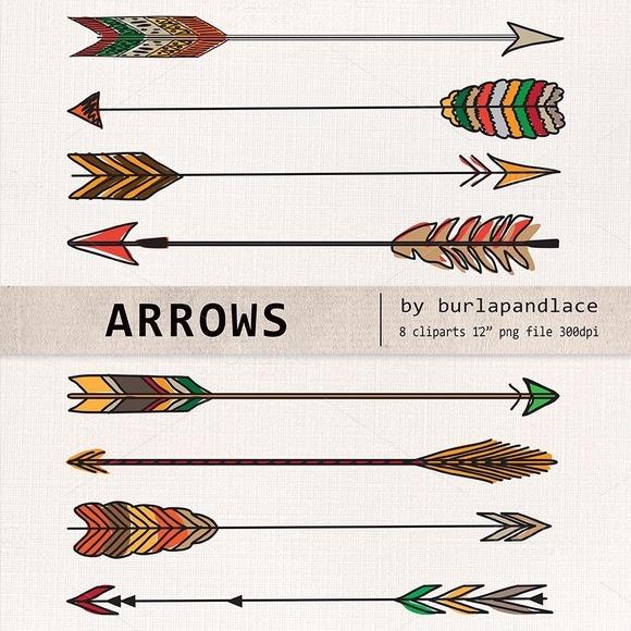 Hand Drawn Clipart Arrows