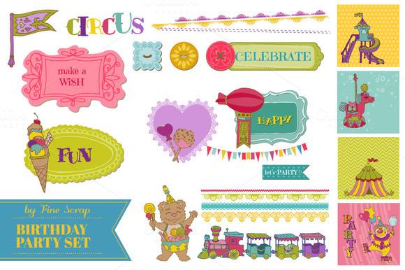 Birthday Party Child Set