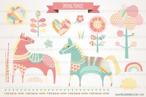 Spring Ponies