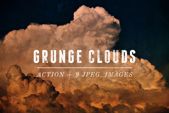Grunge Clouds Action