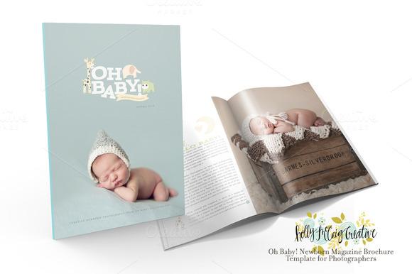 Oh Baby Newborn Magazine Brochure
