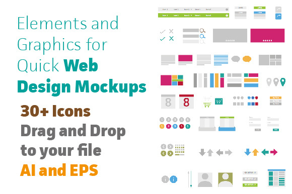 Graphic Elements Quick Web Design