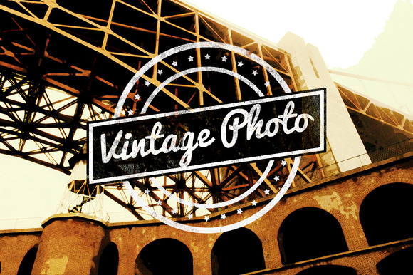 Vintage Photo Action