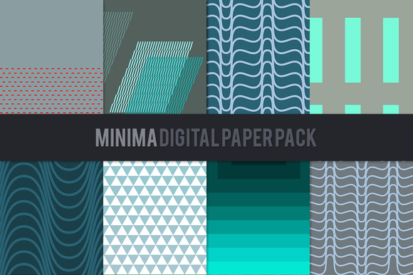 Minima Digital Paper Pack