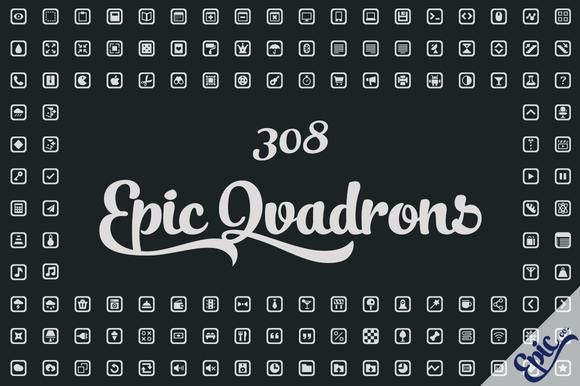308 Epic Qvadrons