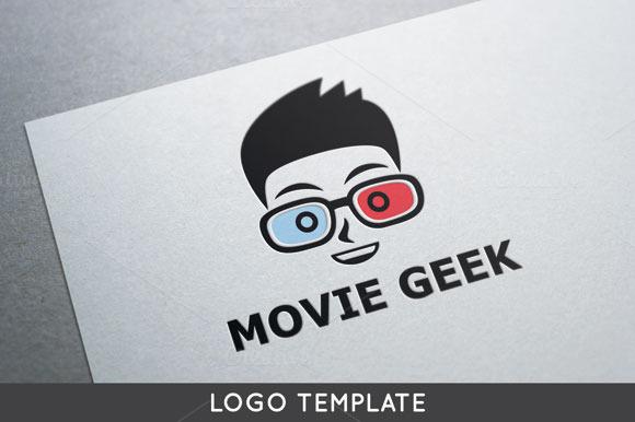 Movie Geek Logo