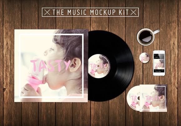 The Music Kit Mockup