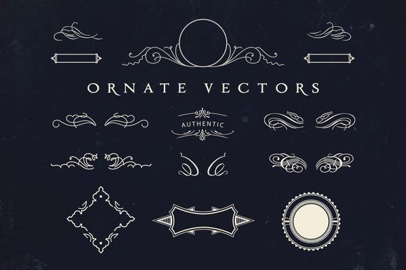 Vintage Ornate Vectors
