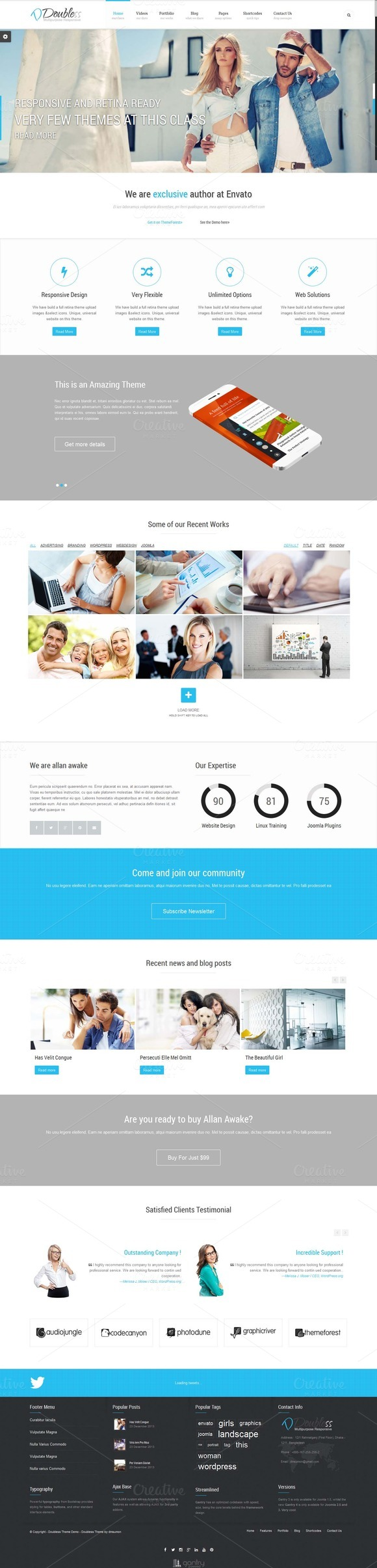 Doubless Multipurpose Template