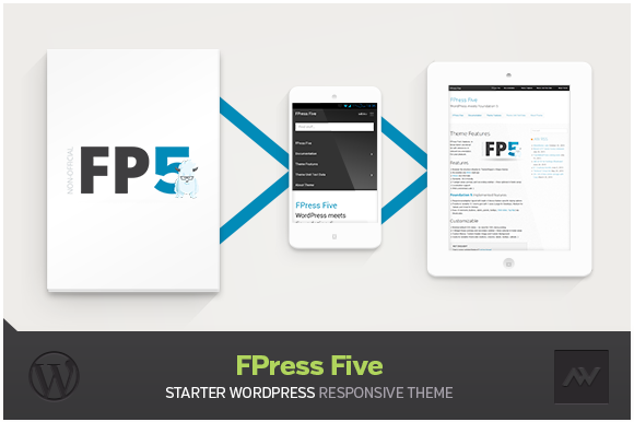 FPress Five Starter WP Theme