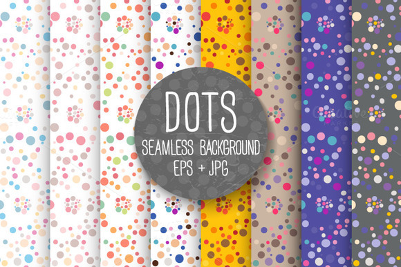 DOTS Seamless Background