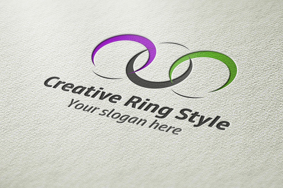 Creative Ring Style Logo