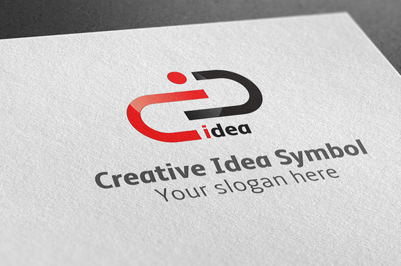 Creative Idea Symbol Logo