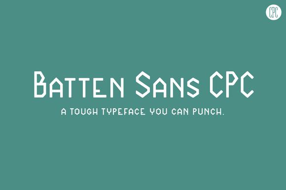 Batten Sans CPC