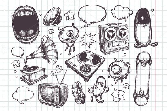 Sketchy Bizarre Elements