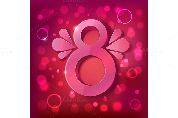 Vector Women S Day Background