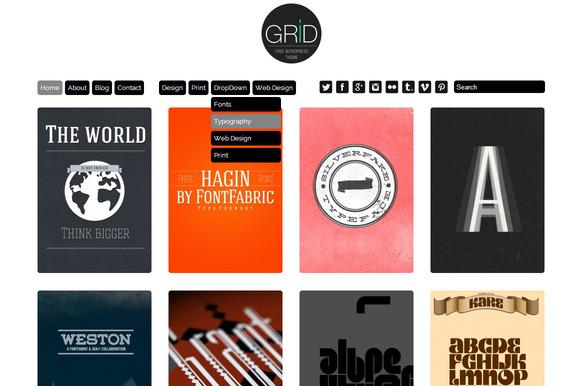 Grid Theme Responsive WordPress
