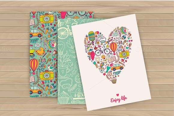 Enjoy Life Cards Travel Pattern