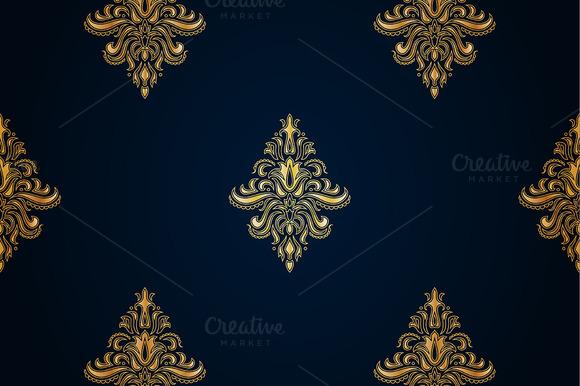 Gold Seamless Pattern