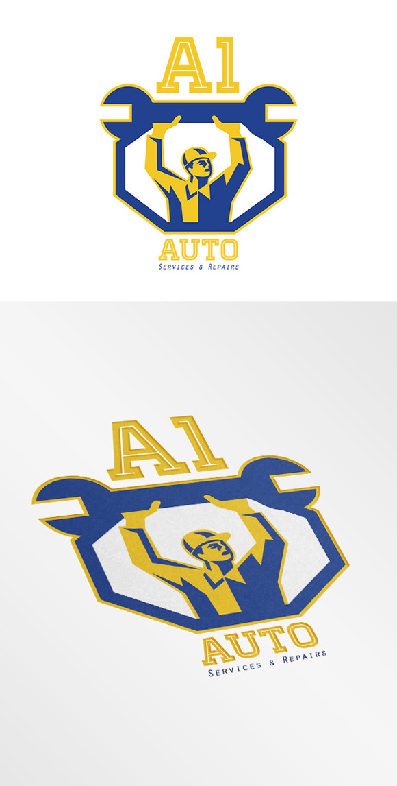 Auto Services And Repair Logo