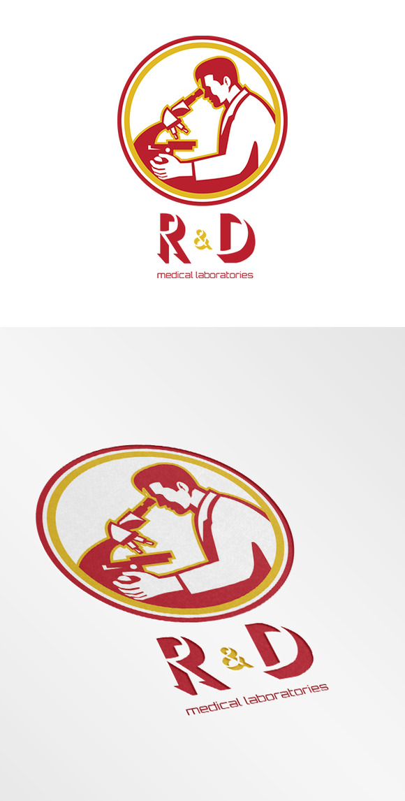 R D Medical Laboratories Logo