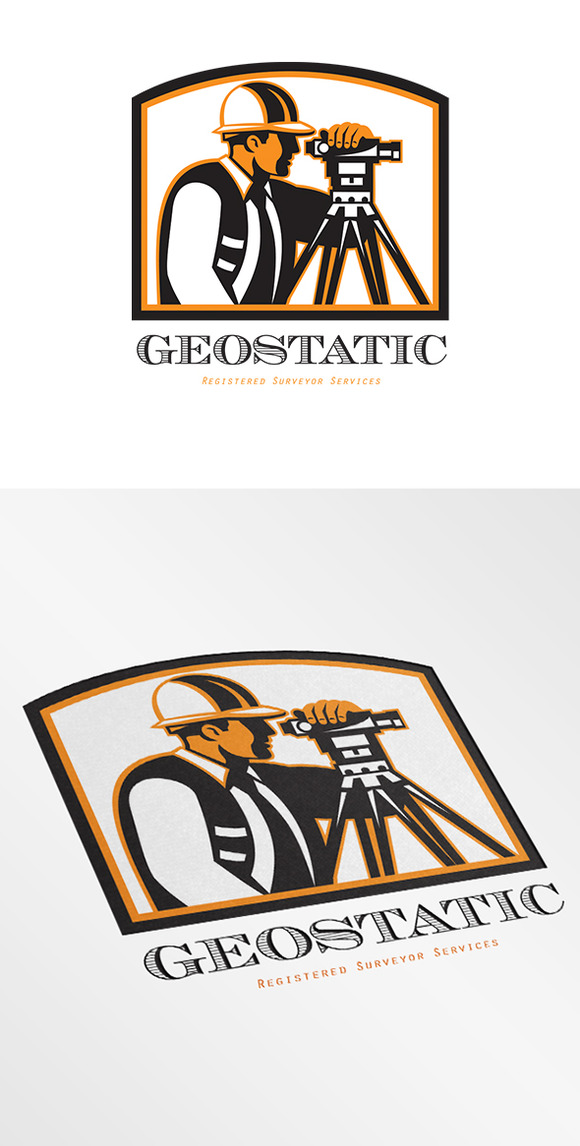 Geostatic Surveyor Logo