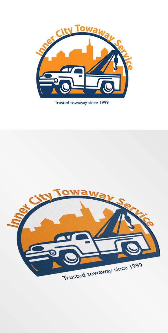 City Tow Service Logo