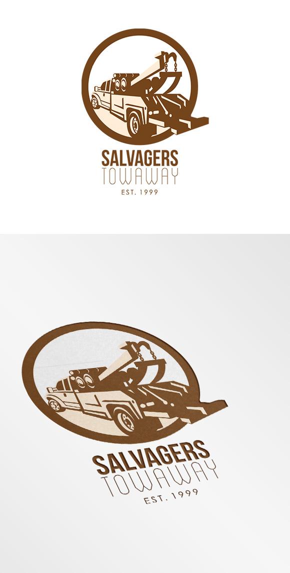 Salvagers Towaway Logo