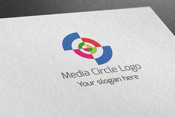 Media Circle Logo
