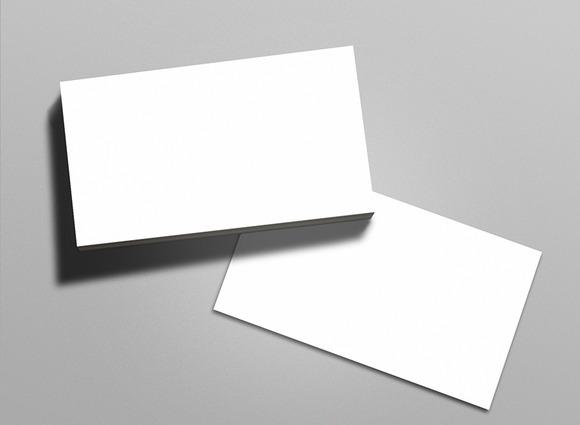 Business Card Mock-up Pack Vol 1