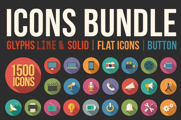 1500 Icons Bundle