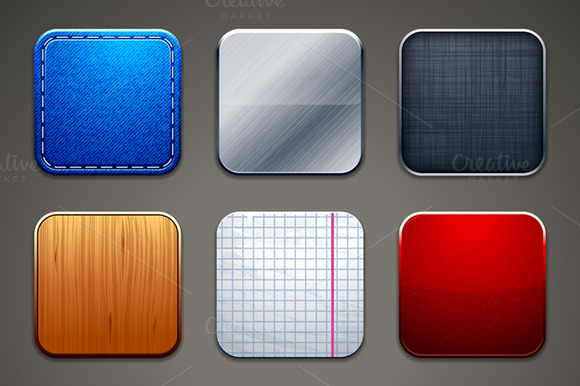 App Icons Frames Set #2