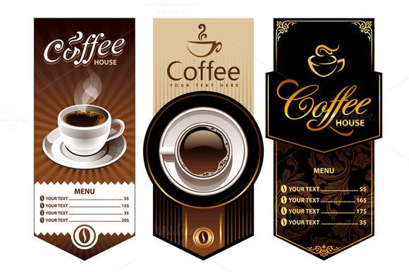3 Coffee Shop Banners