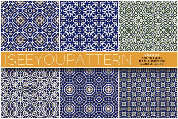 Iseeyoupattern Marrakech