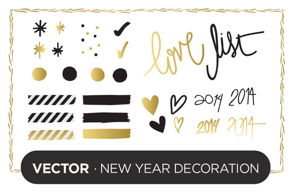Vector New Year Decoration