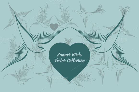 Zanner Birds Vector Collection