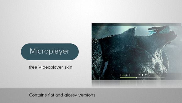 Dualstyle Videoplayer Skin
