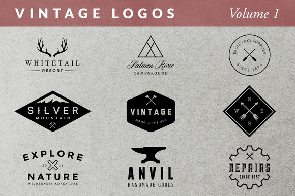 Vintage Logos Volume 1