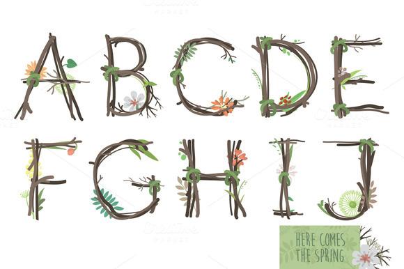 Spring Decorative Typeface